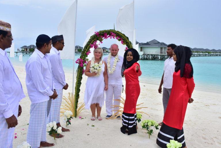Ślub Na Malediwach Marleny I Marcina