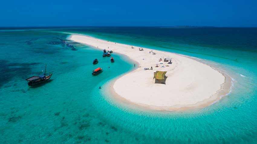 Sandbank Zanzibar 1