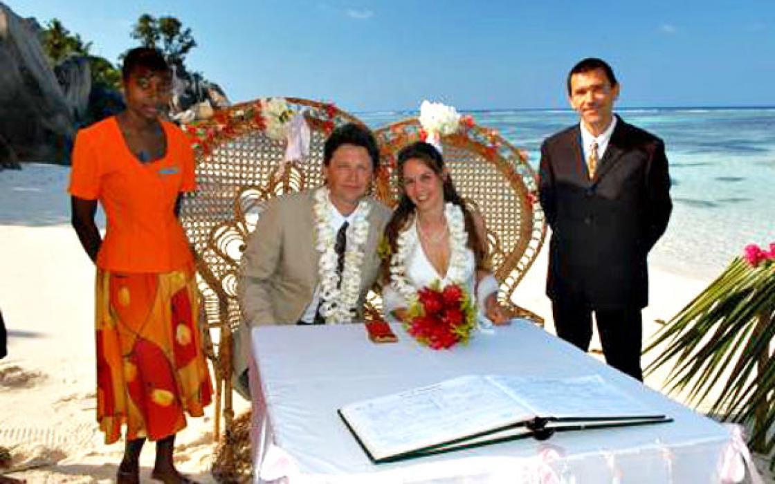 Ślub naSeszelach