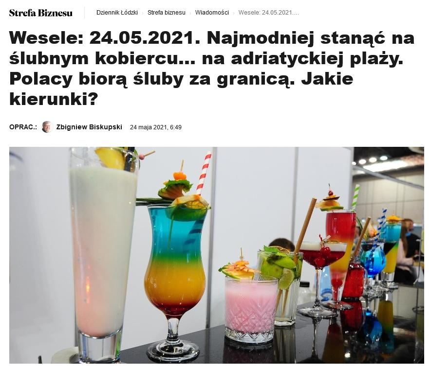 Screenshot_2021 05 25 Wesele 24 05 2021 Najmodniej Stanąć Naślubnym Kobiercu NaAdriatyckiej Plaży Polacy Biorą śluby ZaG[...](10)