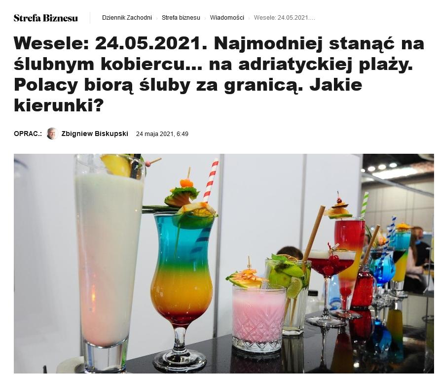 Screenshot_2021 05 25 Wesele 24 05 2021 Najmodniej Stanąć Naślubnym Kobiercu NaAdriatyckiej Plaży Polacy Biorą śluby ZaG[...](3)